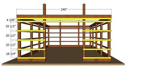 pole barn  diy plans myoutdoorplans