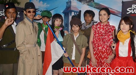 film negeri dongeng surabaya wow maudy ayunda jadi dubber film battle of surabaya