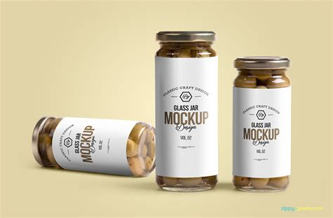 label design for jars free glass jar mockup psd zippypixels
