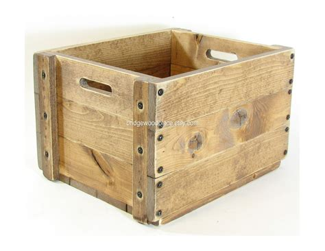 wood crate wood crate wooden box small table furniture by bridgewoodplace