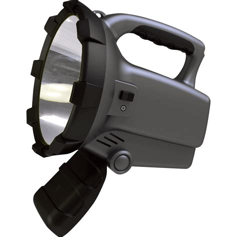 Lu Led Panasonic 10 Watt sunforce rechargeable led spotlight with cree bulb 10 watts 800 lumens model 77807