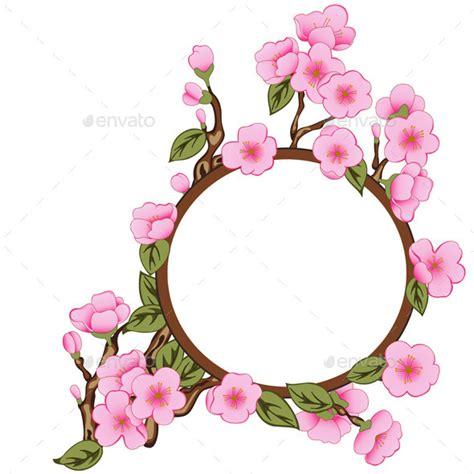 Frame Photo Meja Cantik Bunga Pink border bunga 187 dondrup