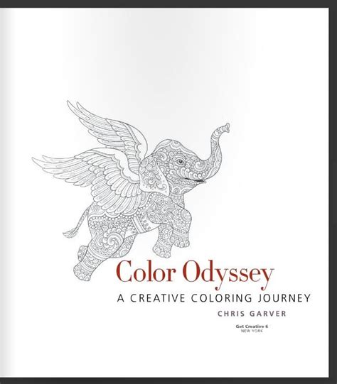 odyssey coloring book a sea coloring journey books color odyssey a creative coloring journey book by chris