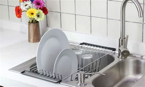 the sink dish drying rack sink dish drying rack genius style of the sink