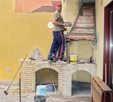 piani cottura in muratura angolo cottura in muratura fai da te 25 passaggi illustrati