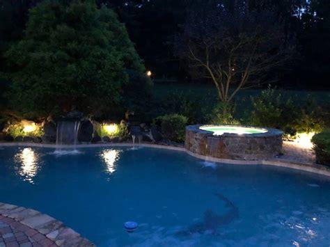 pool area lighting ideas cool ways  put lighting   pool