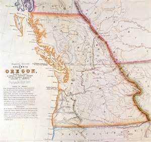 map of oregon territory historical map society of columbia
