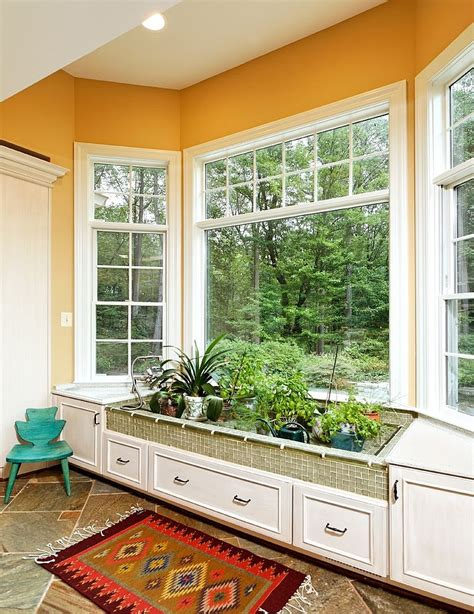 Bay Window Garden Ideas 18 Creative Ideas To Grow Fresh Herbs Indoors