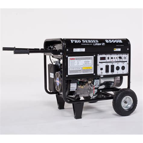 lifan lf8500ie pro series 8500ie electric start generator