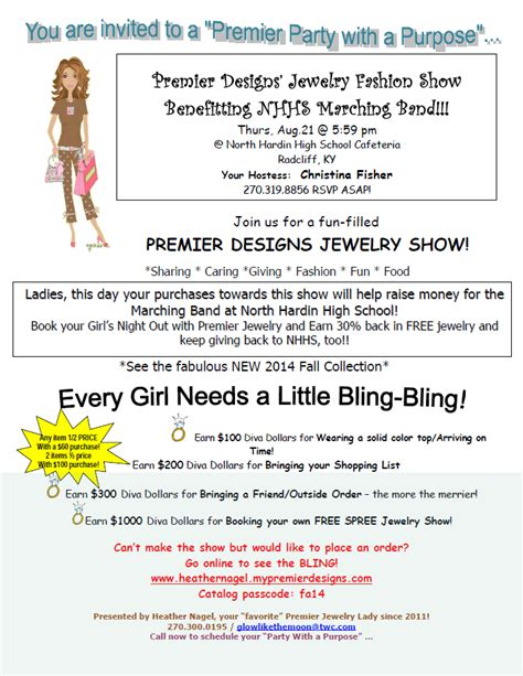 premier design home show ideas premier designs jewelry fashion show fundraiser north
