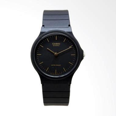 Jam Tangan Casio Black Unisex 1 jual casio mq24 1eldf analog jam tangan unisex