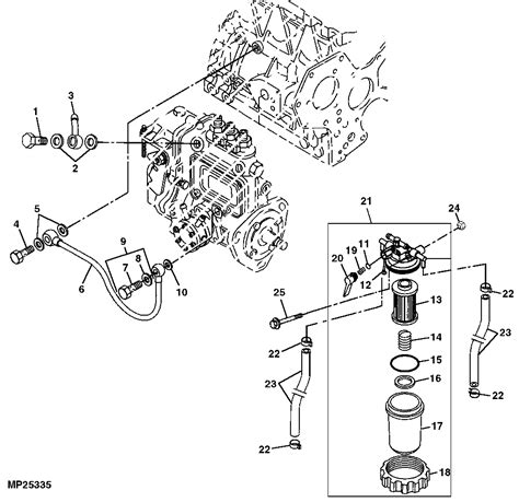 deere 110 tlb parts diagram deere 110 tlb is surging after warms up what could it