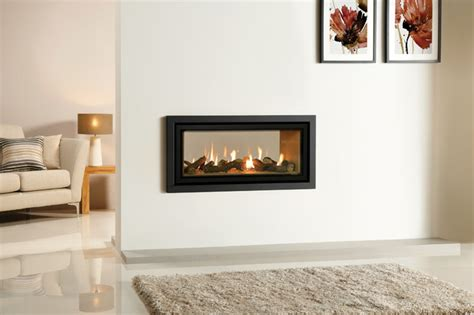 gazco studio duplex sided gas fireplace