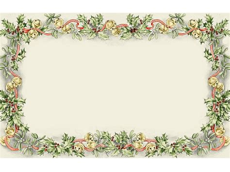 christmas frame ppt backgrounds ppt backgrounds templates