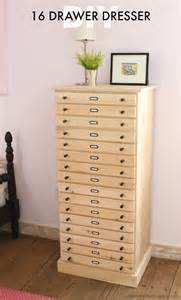 that s my letter diy 16 drawer dresser free plans