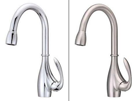 4 Hole Kitchen Sink Faucet Danze D454746ss Bellefleur Single Handle Two Function Pull