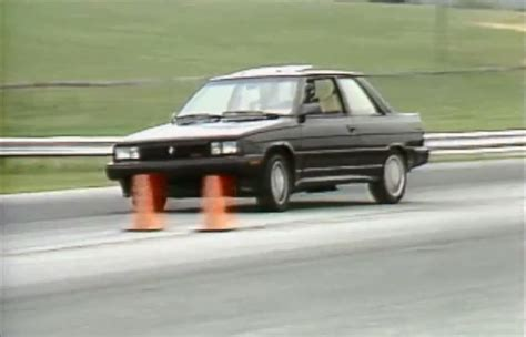 renault alliance 1987 187 1987 renault alliance gta test drive