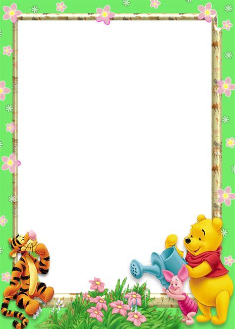 imagenes de winnie pooh en png marcos de winnie pooh beb 233 para fotos imagui
