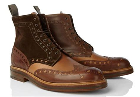 brogues boots heavy brogue boots the shoe snob