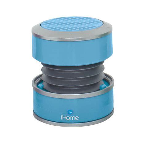 Home Design Store Nyc Ihome Ihm60 Rechargeable Mini Speaker Blue Im60lt B Amp H Photo