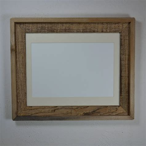 11x14 Matted Frame by 11x14 Wood Frame With Mat Great From Barnwood4u