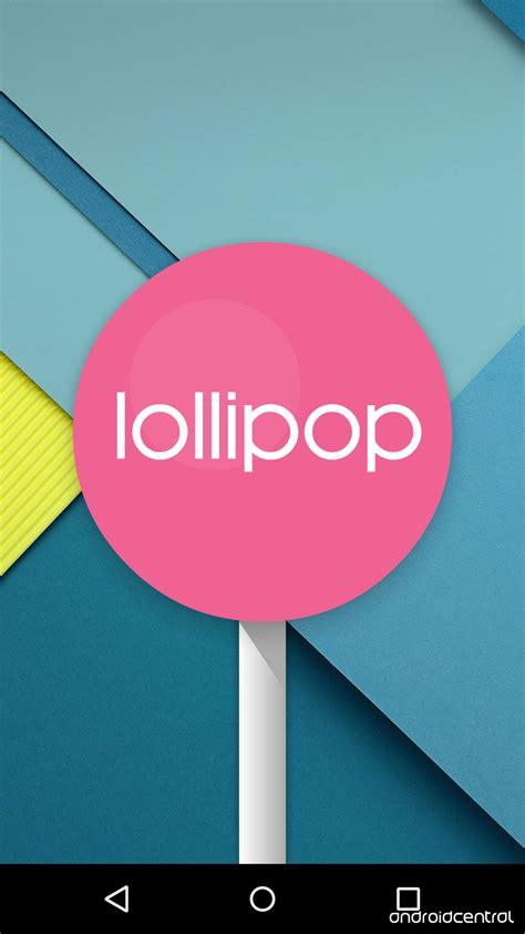 lolipop android android 5 0 lollipop material design in pictures and android central