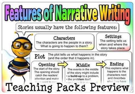 printable narrative poster the narrative writing pack