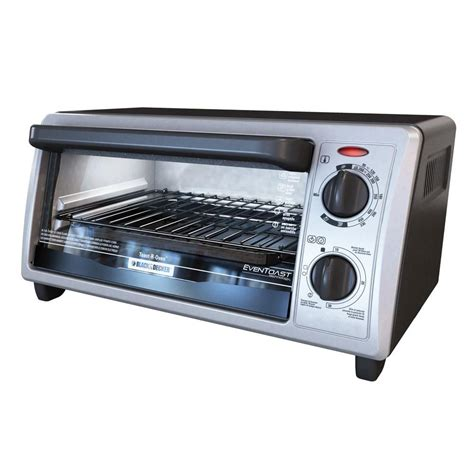 Home Depot Toaster Ovens Black Decker 4 Slice Black And Stainless Steel Toaster