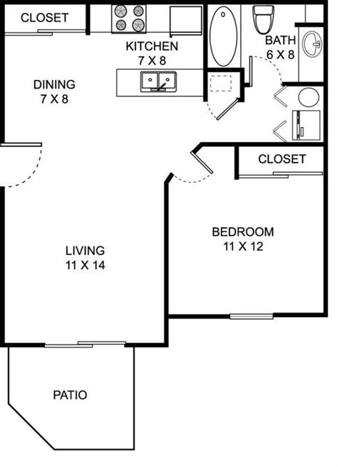 650 square feet floor plan our 1 bed 1 bath spacious floor plan 650 square feet