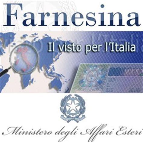 visto di ingresso ministero degli affari esteri il visto di ingresso per l