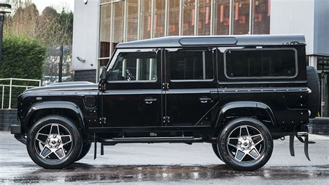 kahn land rover defender 110 mighty 7 seater defender wide track by kahn