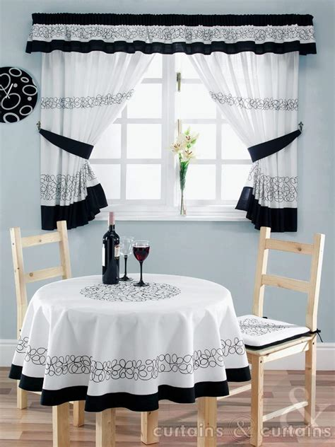 black kitchen curtains black and white kitchen curtains black white kitchen
