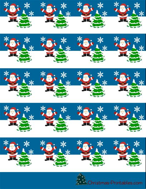 christmas candy bar wrapper template free
