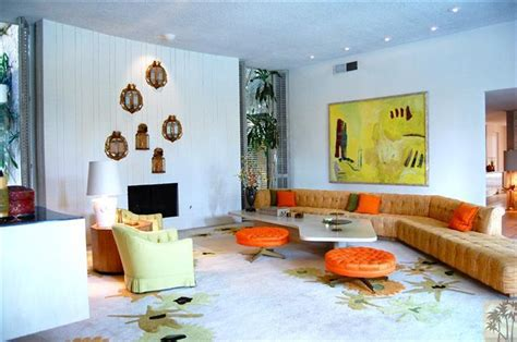 palm springs interior design house of the week arthur elrod palm springs home hits