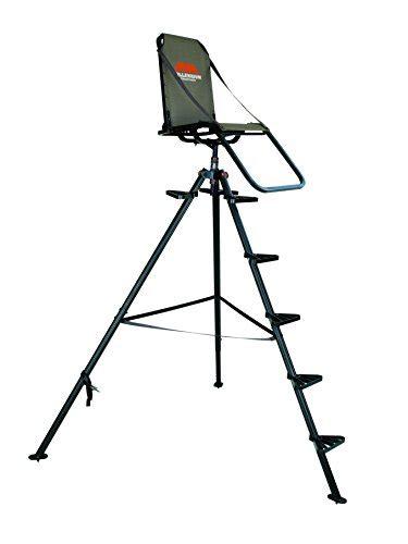 tripod table l amazon millennium treestands t100 10 ft aluminum tripod stand
