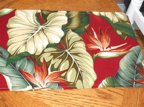 hawaiian upholstery fabric tropical hawaiian cotton barkcloth upholstery fabric