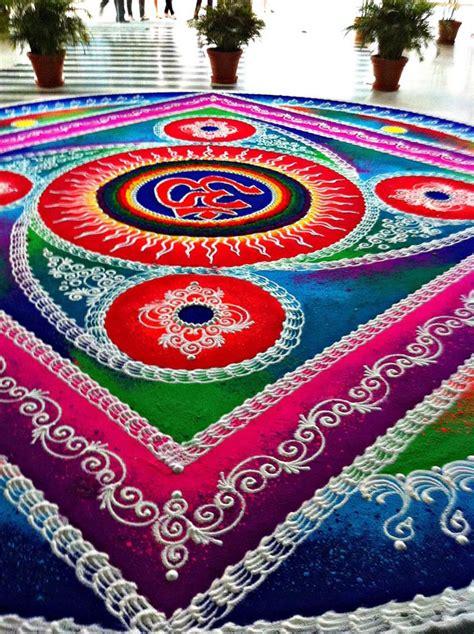 pattern of rangoli art rangoli designs om
