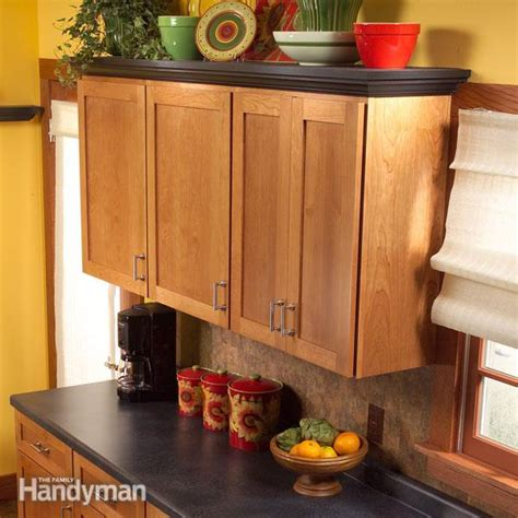 adding shelves to kitchen cabinets how to add shelves above kitchen cabinets the family