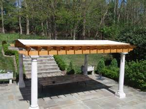 Pergola Roof Covering Custom Fabricated Pergola Covers