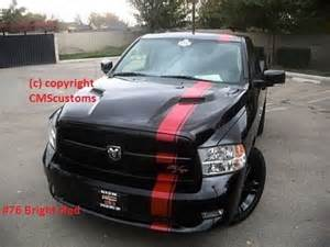 Dodge Ram 1500 Racing Stripes Dodge Ram 1500 Truck Mopar Racing Stripes Decals Trunk