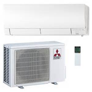 Mitsubishi Mini Split System Reviews Go Ductless Mitsubishi Mz Fh12na 12 000 Btu 26 1 Seer