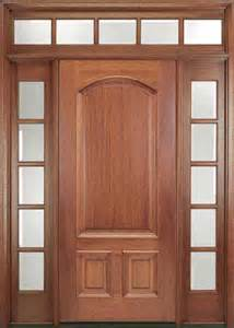 Contemporary Front Doors With Sidelights Ridgecrest Mahogany Entry Door With Sidelights And Transom Contemporary Front Doors Other