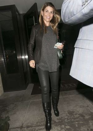 lori loughlin boots lori loughlin leaves the palms restaurant in beverly hills