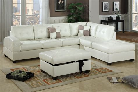 Leather Sectional Sofa Sectional Sofa 2 Pc Leather Sectional Color Living Room Sofa F7359 Ebay