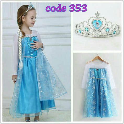 Baju Elsa Frozen jual baju elsa frozen import grosir welcome reseller 3531 grosir tanah abang gta