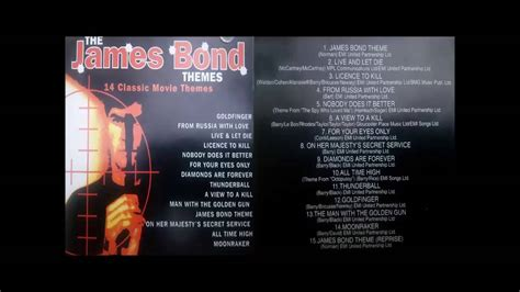 james bond themes london theatre orchestra james bond 14 classic movie themes london theater