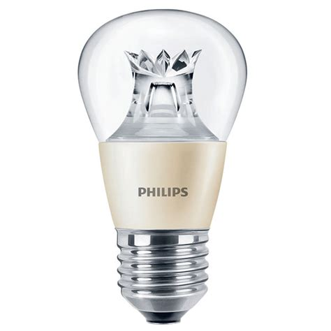 philips led p45 6w es clear warm white dimtone