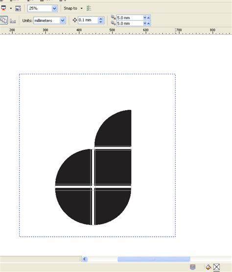 software design huruf tutorial coreldraw membuat logo