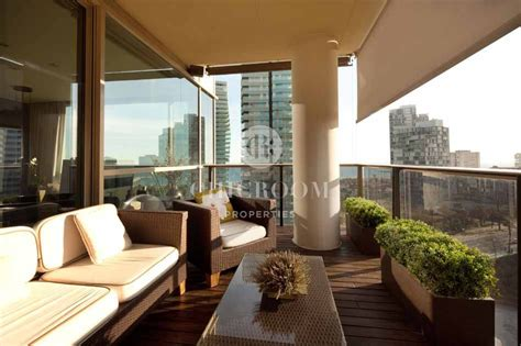 barcelona appartment 4 bedroom furnished apartment with sea views for rent in barcelona