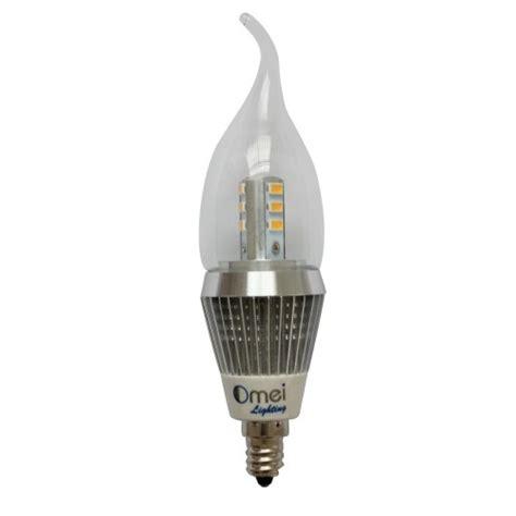 led candelabra bulb brightest model 7 watt 6 pcak flame